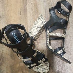 Cynthia Rowley Sandals Size 8M
